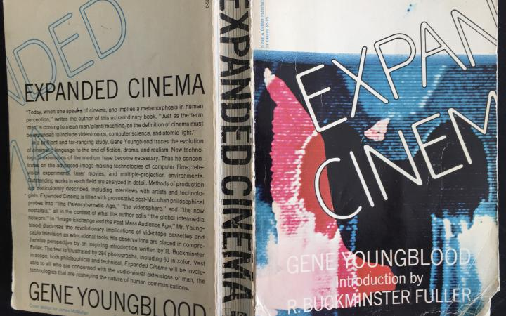 Buchcover: Erstausgabe von »Expanded Cinema«, 1970