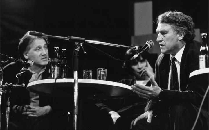 Peter Weibel und Heinrich Klotz