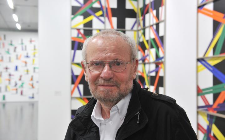 Portrait of the artist Bernhard Sandfort