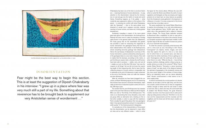 """Seitenansicht der Publikation """"Critical Zones"""""""