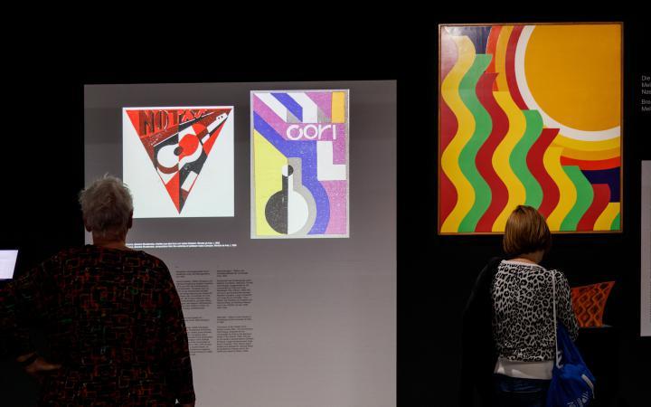 Impressionen der Eröffnung der Bauhausausstellung