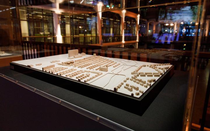 Das Foto zeigt ein Bauhausmodel.