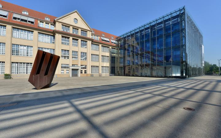 Exterior view of the ZKM | Center for Art and Media Karlsruhe