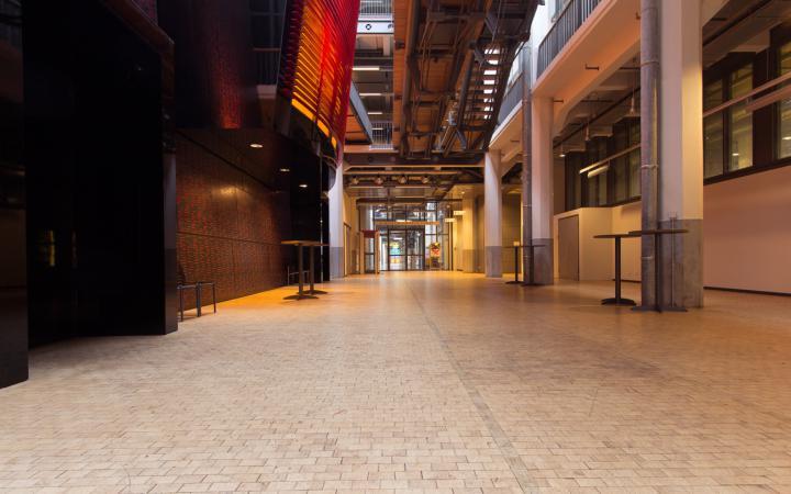 Passageway from the ZKM_Foyer to HfG