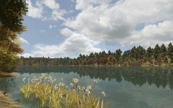 "Screenshot computer game ""Walden, a game"""
