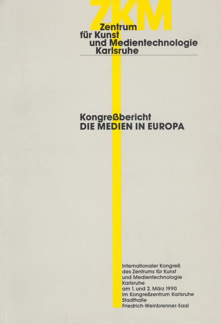 Cover der Publikation »Die Medien in Europa«