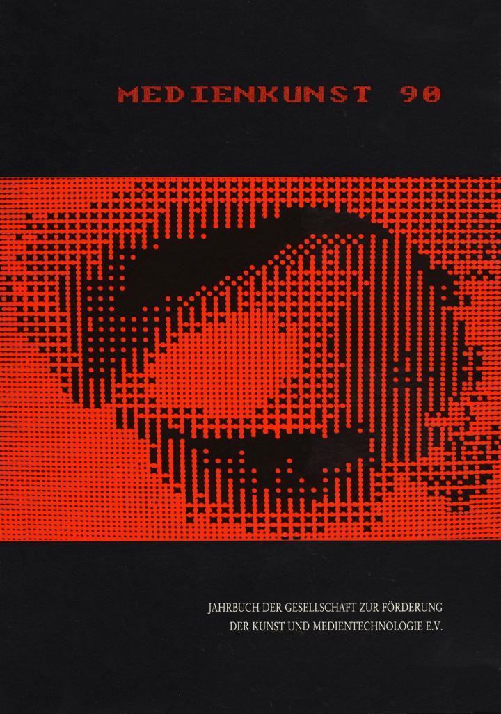 Cover der Publikation »Medienkunst 90«