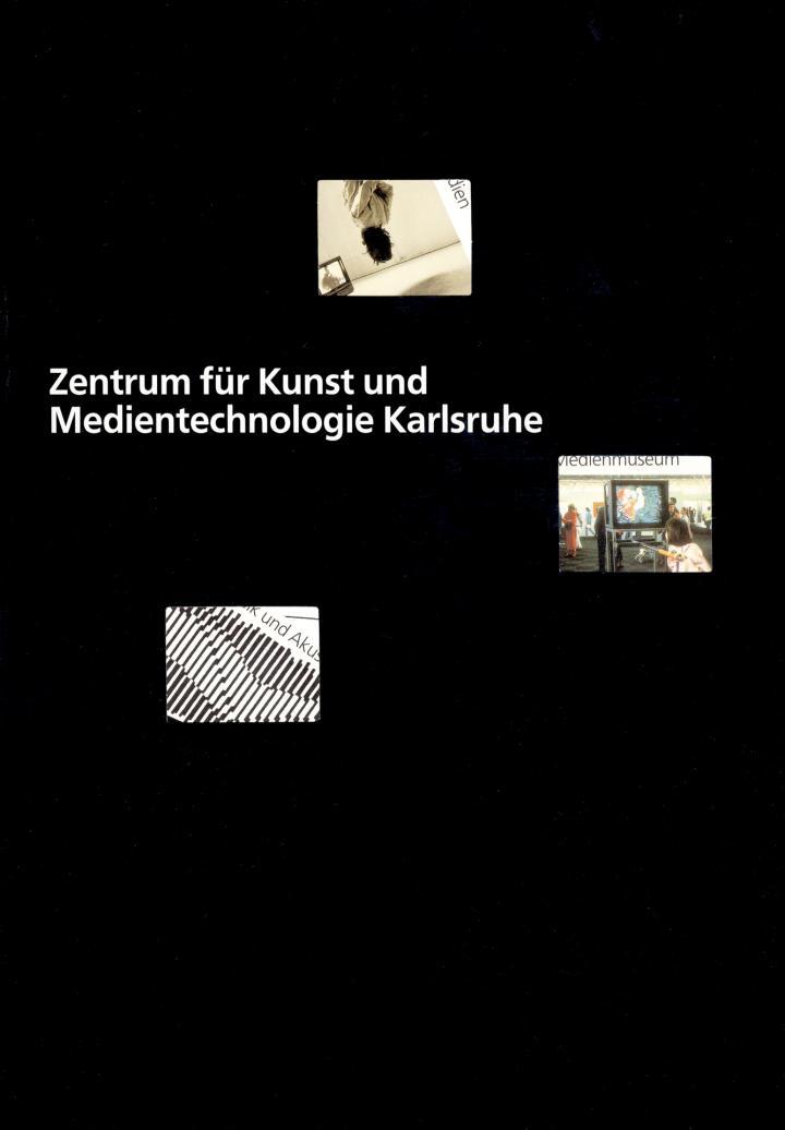 Cover of the publication »Zentrum für Kunst und Medien Karlsruhe«