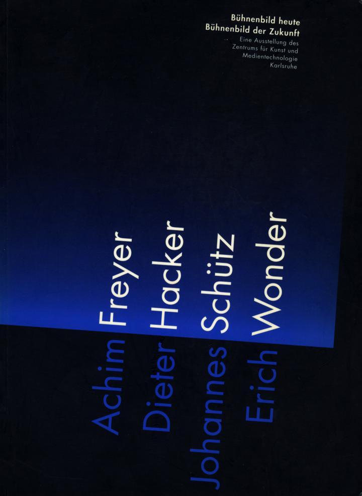 Cover der Publikation »Bühnenbild heute, Bühnenbild der Zukunft / Stage Design Now, Stage Design of the Future«