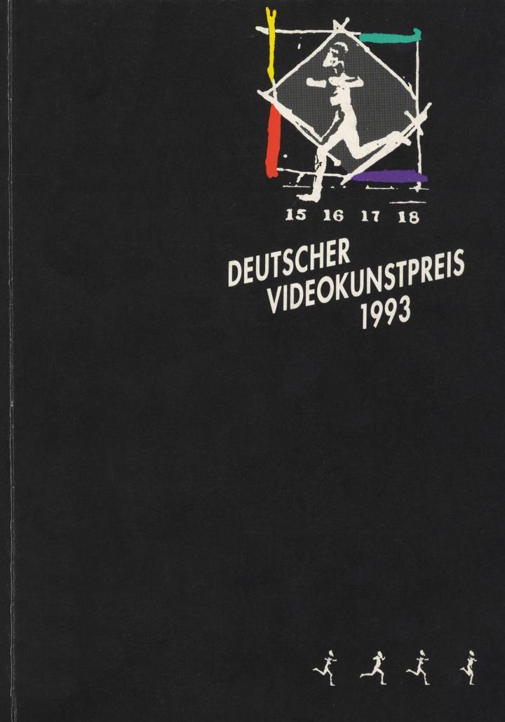 Cover der Publikation »Deutscher Videokunstpreis 1993«