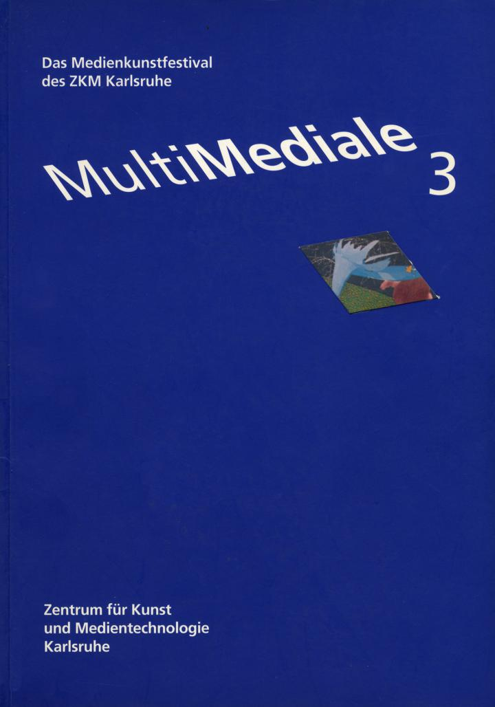 Cover of the publication »MultiMediale 3«