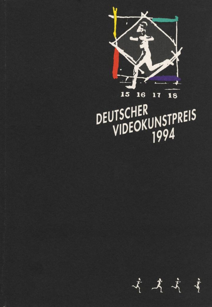 Cover of the publication »Deutscher Videokunstpreis 1994«