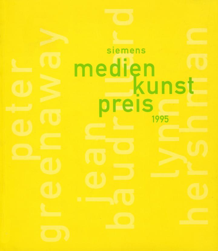 Cover der Publikation »Siemens Medienkunstpreis 1995«