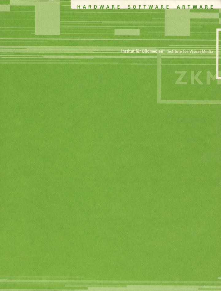 Cover der Publikation »Hardware, Software, Artware«