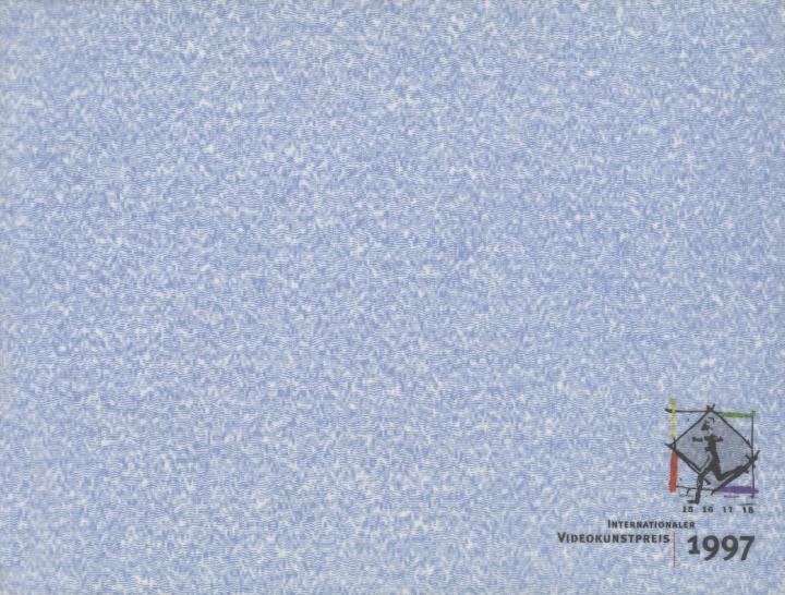 Cover of the publication »Internationaler Videokunstpreis 1997«