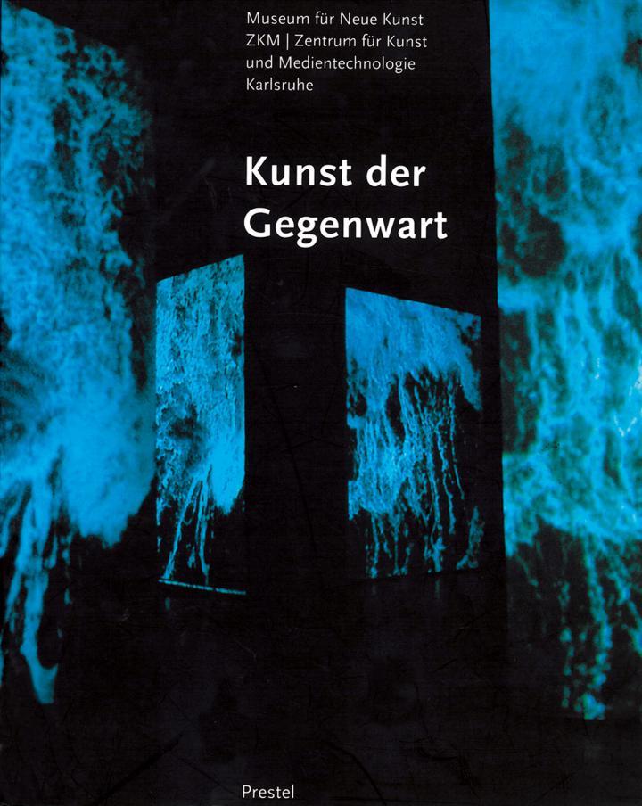 Cover der Publikation »Kunst der Gegenwart. Museum für Neue Kunst«