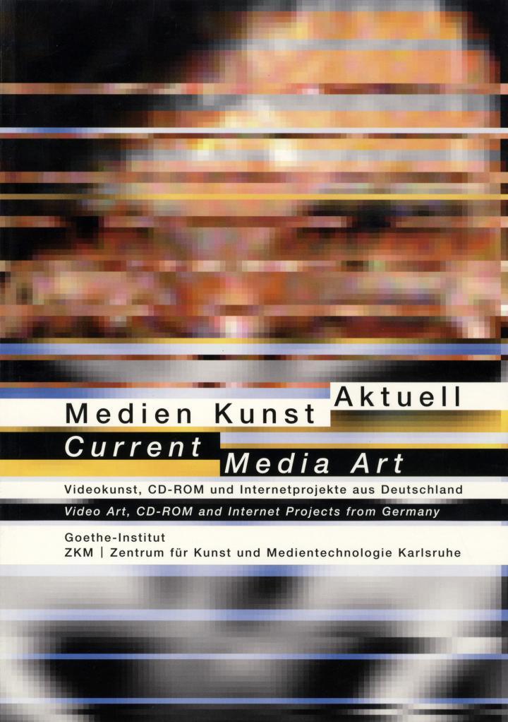 Cover der Publikation »Medien Kunst Aktuell / Current Media Art«