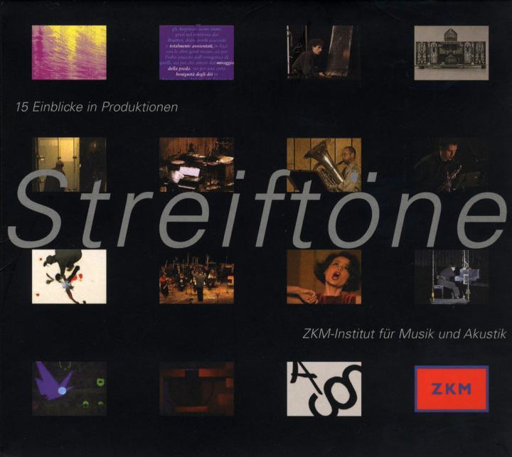 Cover of the publication »Streiftöne. 15 Einblicke in Produktionen«