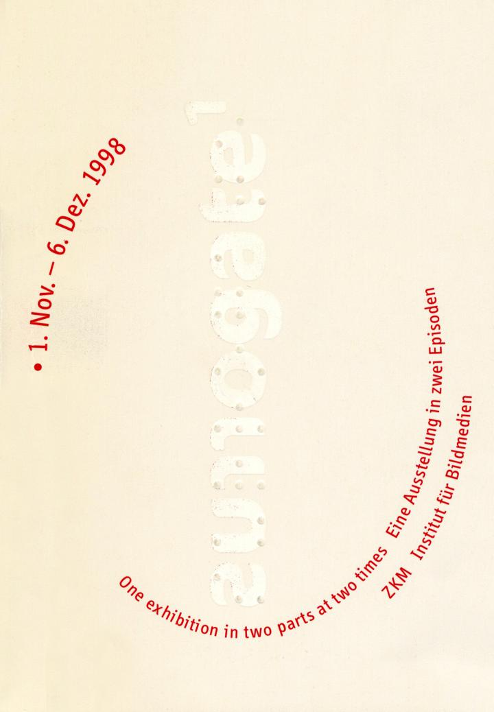 Cover of the publication »Surrogate 1«