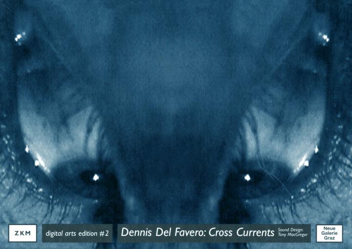 Cover of the publication »Dennis Del Favero: Cross Currents«