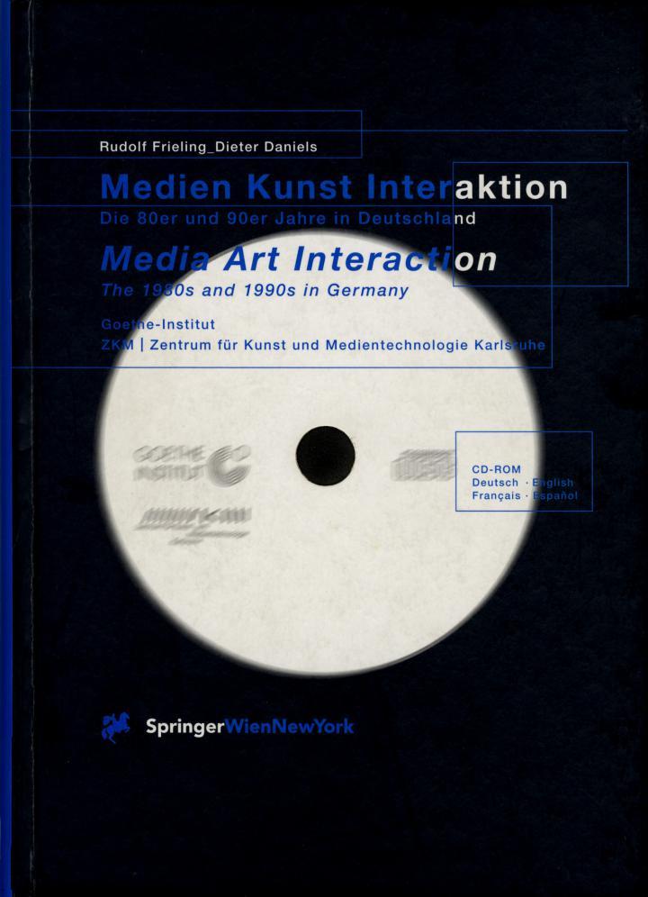 Cover der Publikation »Medien Kunst Interaktion«