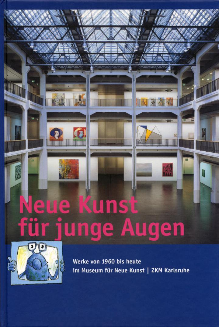Cover of the publication »Neue Kunst für junge Augen«