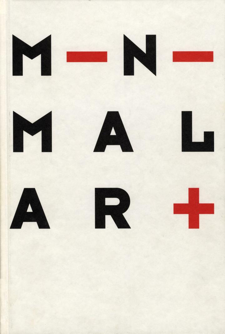 Cover der Publikation »Minimal Art«