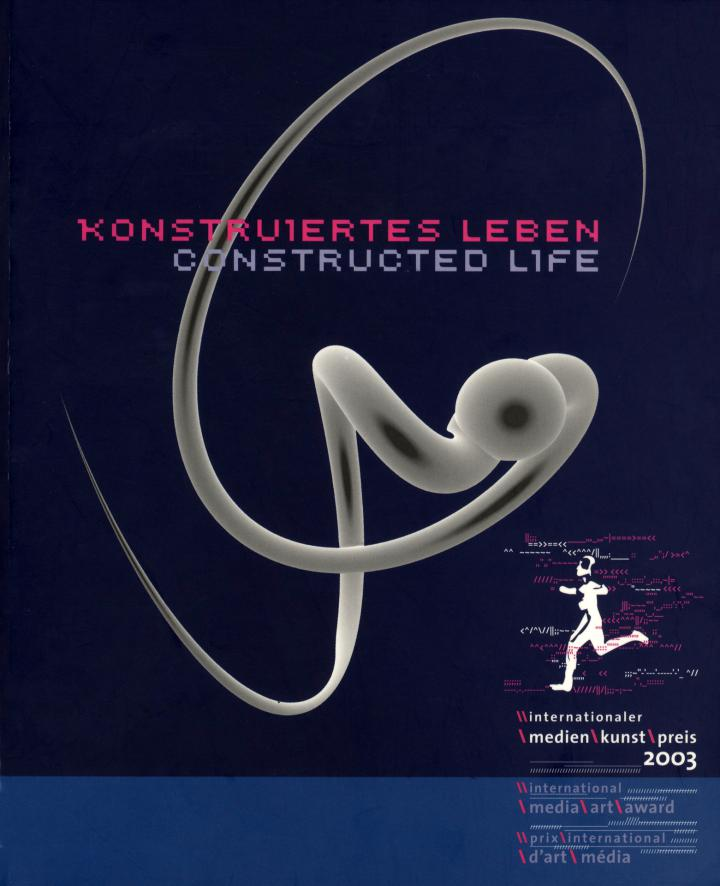 Cover der Publikation »Konstruiertes Leben / Constructed Life«