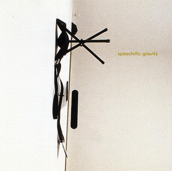 Cover der Publikation »Speechific Gravity«