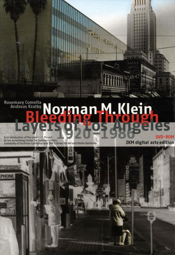 Cover of the publication »Bleeding Through«
