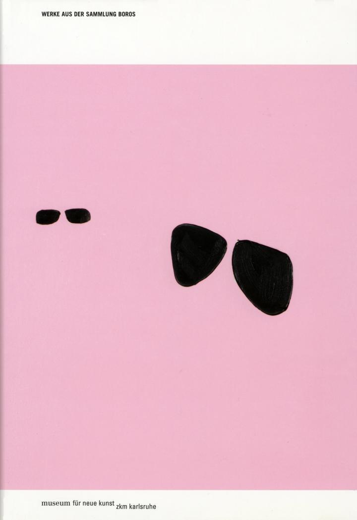 Cover of the publication »Werke aus der Sammlung Boros«