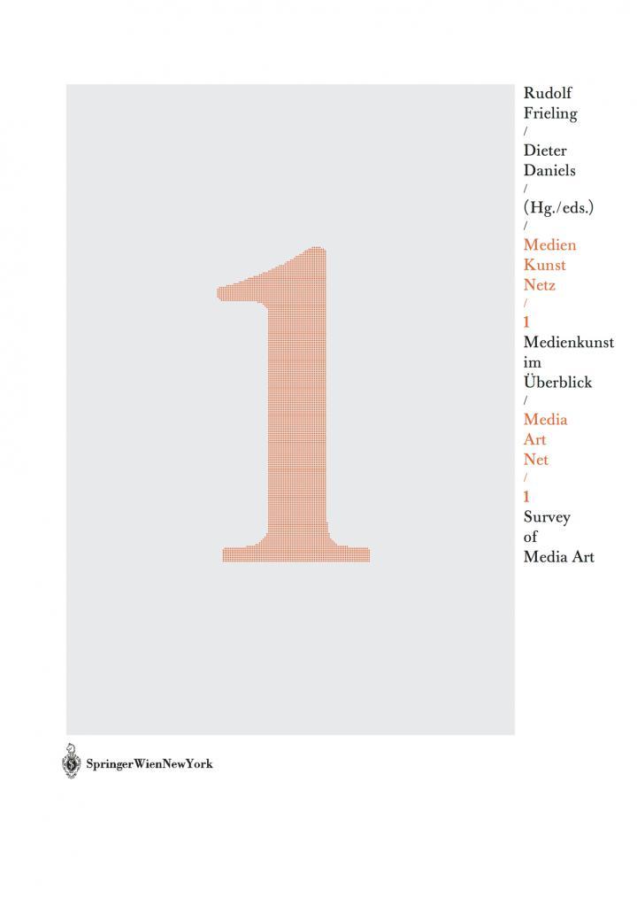 Cover of the publication »Medien Kunst Netz / Media Art Net«