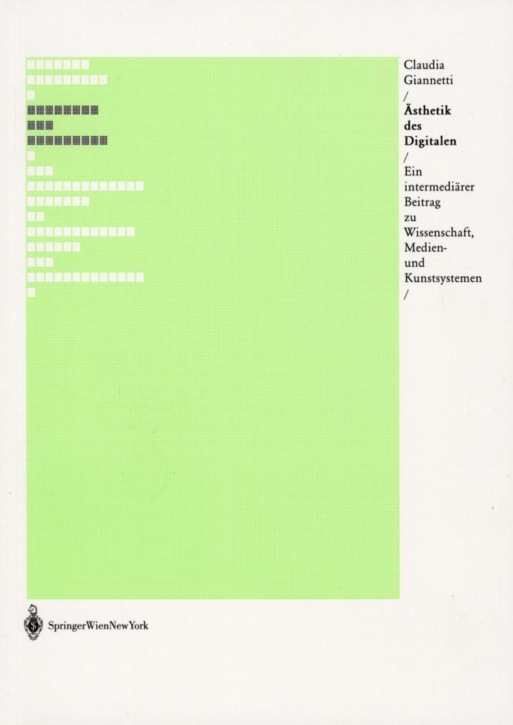 Cover der Publikation »Ästhetik des Digitalen«