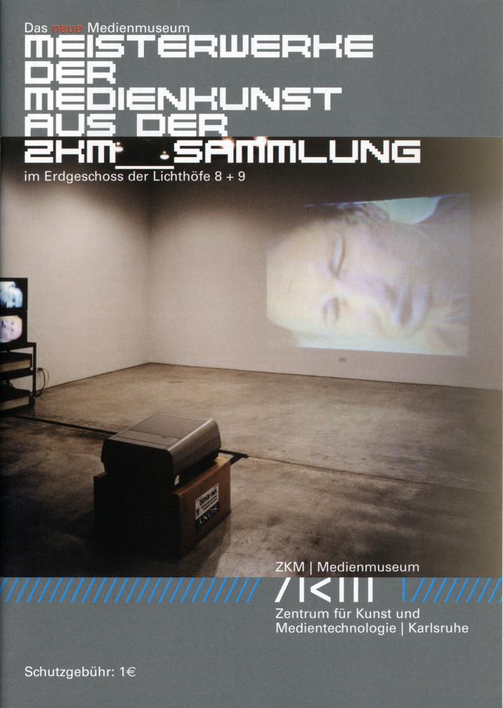 Cover of the publication »Meisterwerke der Medienkunst aus der ZKM-Sammlung«