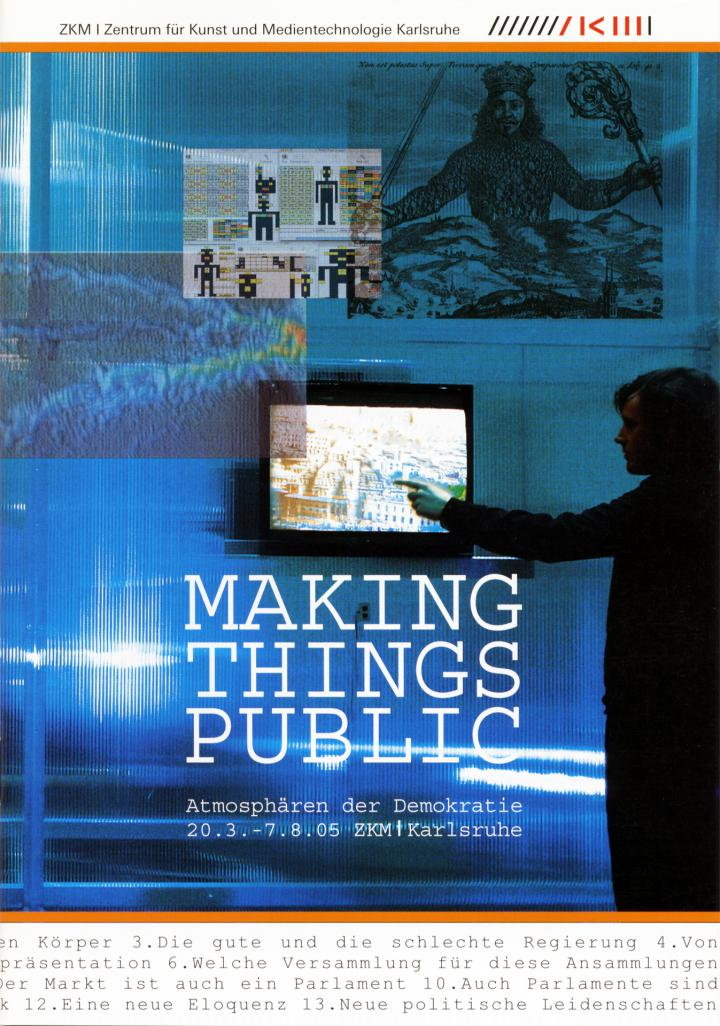Cover of the publication »Making Things Public«