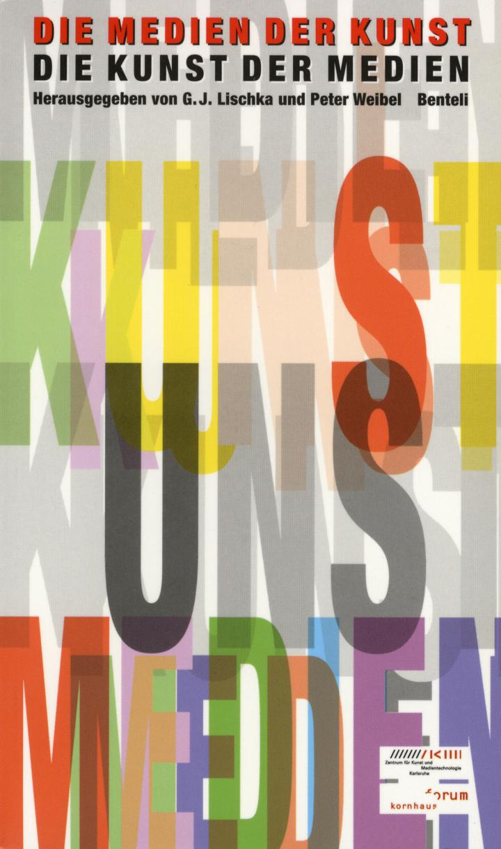 Cover of the publication »Die Medien der Kunst. Die Kunst der Medien«