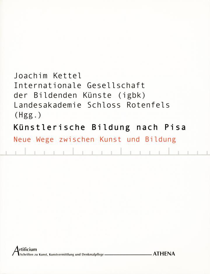 Cover of the publication »Künstlerische Bildung nach Pisa«