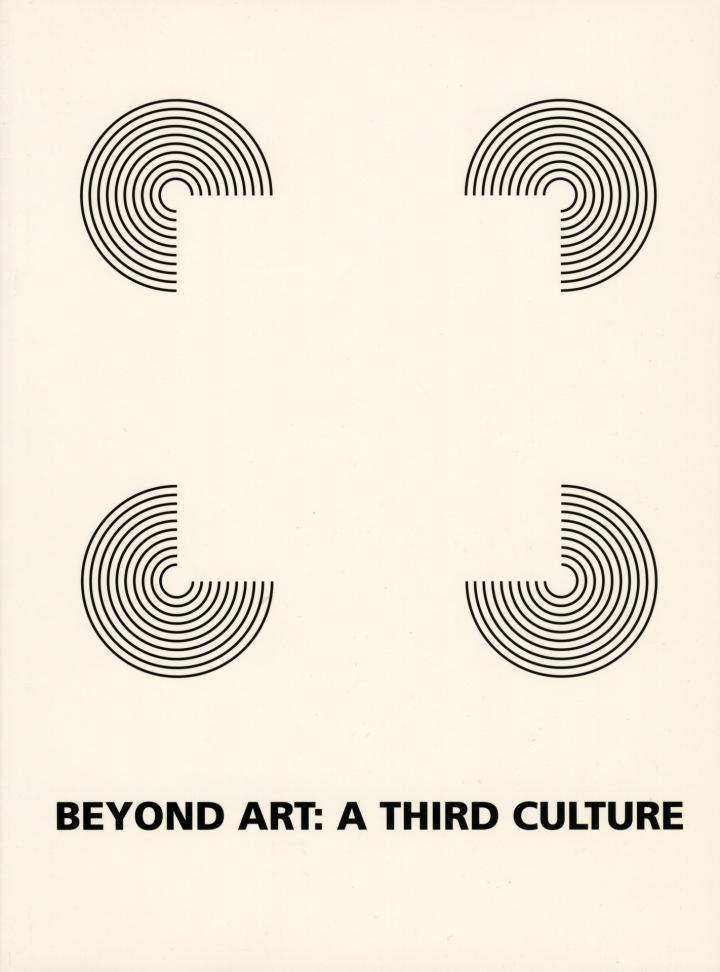 Cover der Publikation »Beyond Art. A Third Culture«