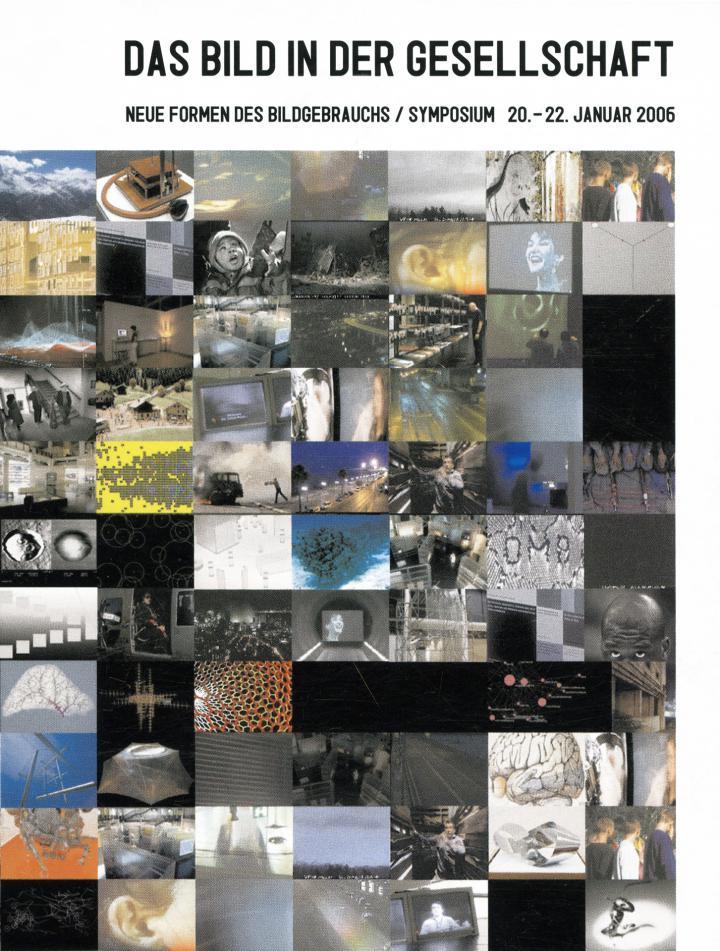 Cover der Publikation »Das Bild in der Gesellschaft / The Role of Pictures in Society«