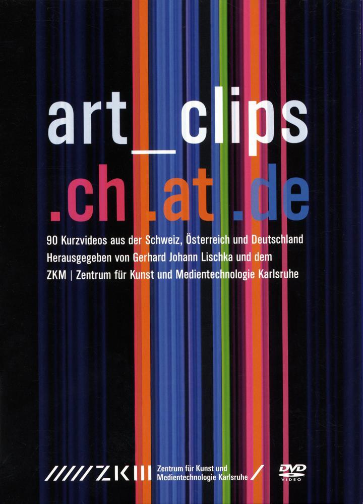 Cover of the publication »Art_Clips.ch.at.de«