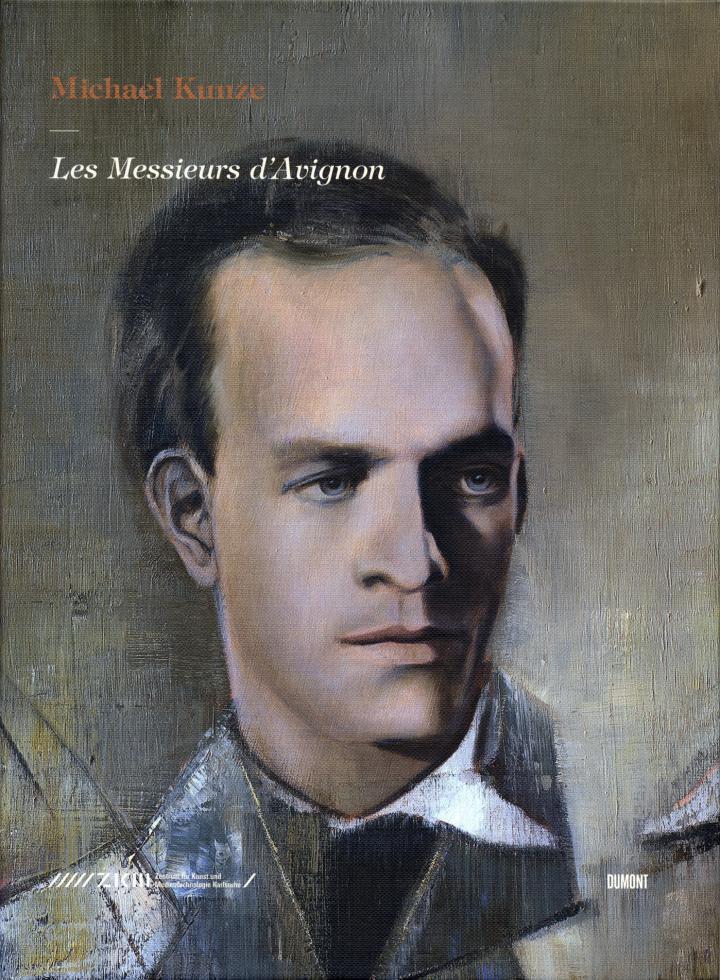 Cover of the publication »Michael Kunze: Les Messieurs d'Avignon«