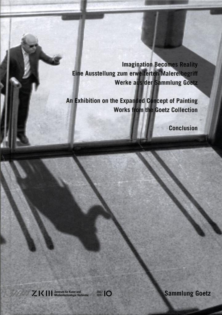 Cover der Publikation »Imagination Becomes Reality. Eine Ausstellung zum erweiterten Malereibegriff / An Exhibition on the Expanded Concept of Painting«