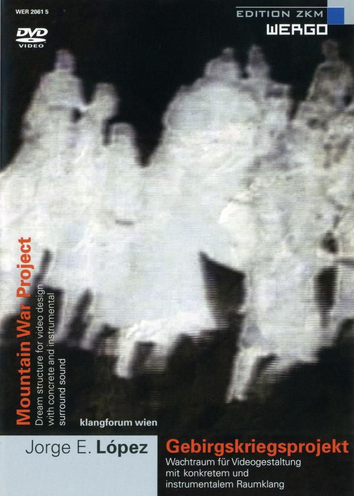 Cover of the publication »Gebirgskriegsprojekt / Montain War Project«