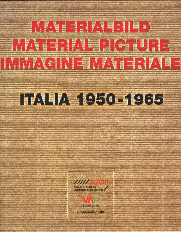 Cover der Publikation »Materialbild / Material picture / Immagine materiale«