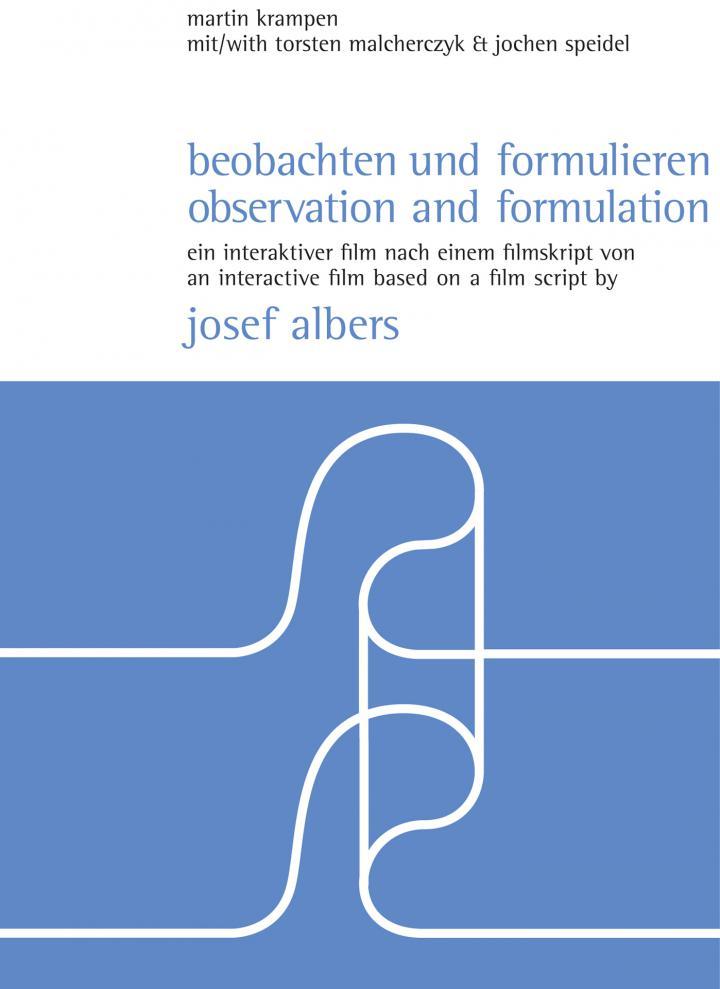 Cover of the publication »Beobachten und formulieren / Observation and Formulation«
