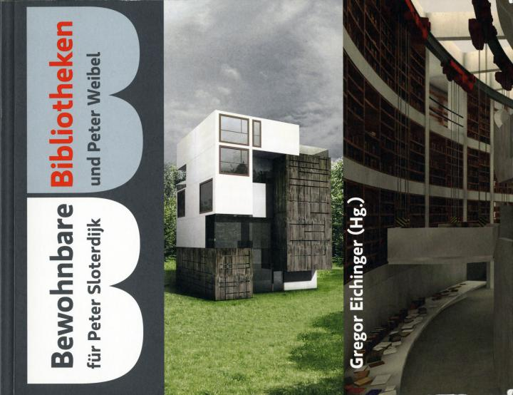 Cover of the publication »Bewohnbare Bibliotheken«
