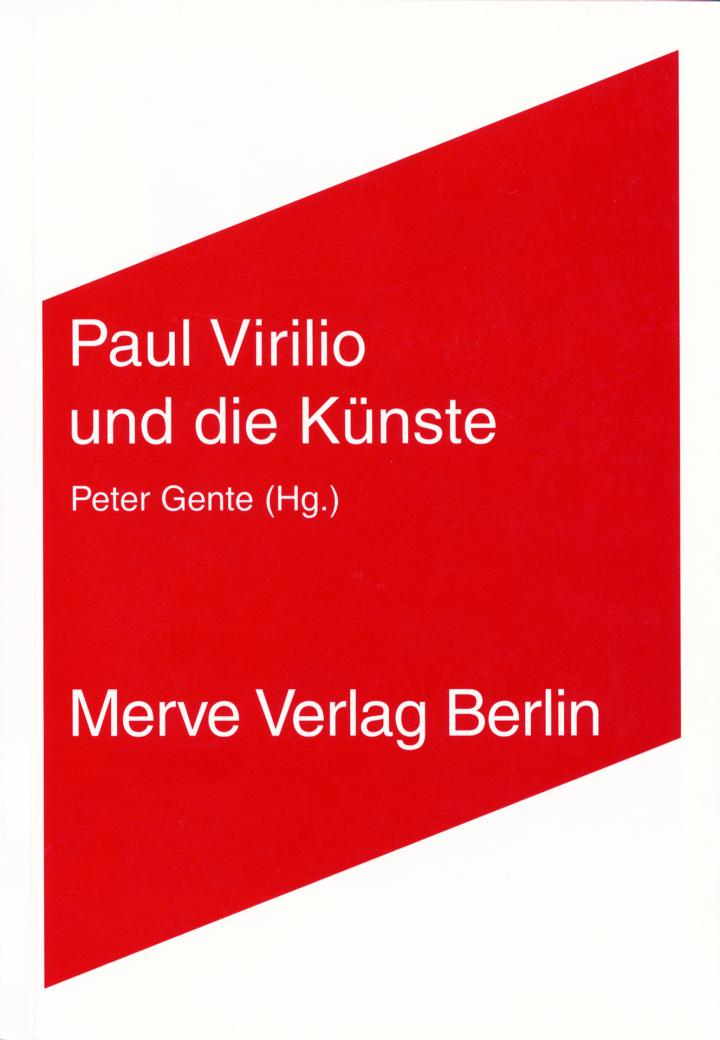 Cover of the publication »Paul Virilio und die Künste«