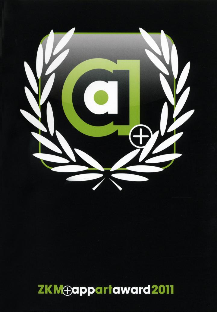 Cover der Publikation »ZKM AppArtAward 2011«