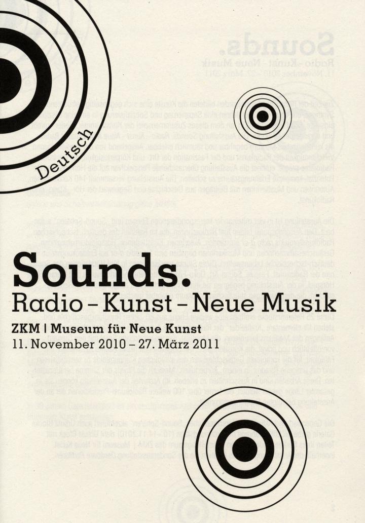 Cover der Publikation »Sounds«