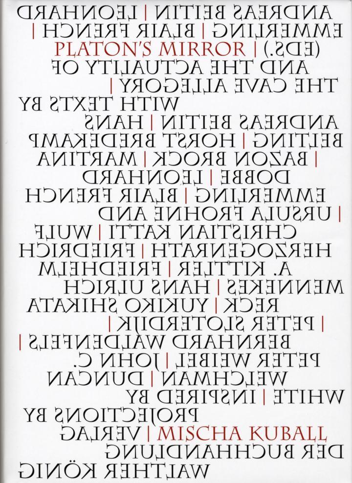 Cover der Publikation »Mischa Kuball: Platon's Mirror«